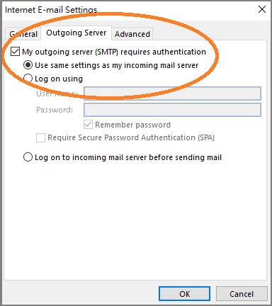 PacHosting - Set Up Email Account in Outlook 2013 and 2016
